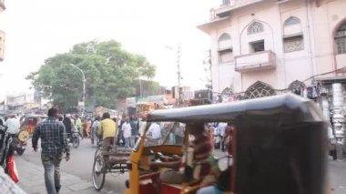 Street markets Charminar — Stock Video