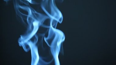 Closeup of Smoke — Stockvideo