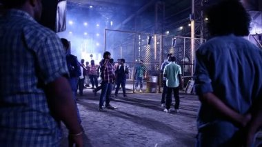 Getting started shooting of Indian cinema — Vídeo stock