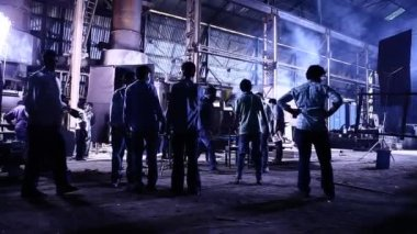 Getting started shooting of Indian cinema — ストックビデオ