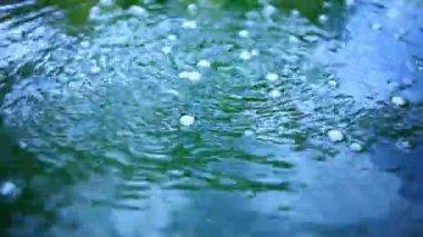 Vzduchové bubliny v vodě — Stock video