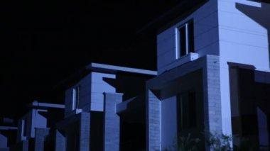 Horror shot of Building — Vídeo stock
