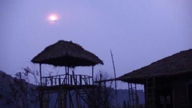 Ośrodek wypoczynkowy w Radżastan Indie — Wideo stockowe