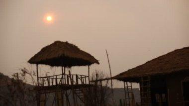 Holiday Resort at Rajasthan India — Stock Video