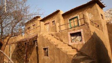 Rural house at Rajasthan India — Stock Video