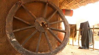 Landhaus in Rajasthan, Indien — Stockvideo