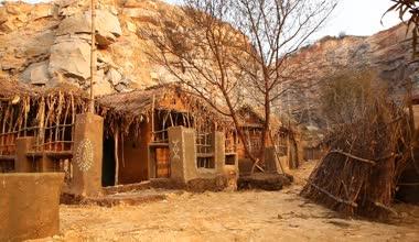 Rural house at Rajasthan India — Vídeo de stock