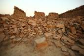 Old ruins in desert — Fotografia Stock