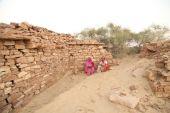Village poor people — Stock Photo