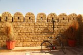 Vintage fort in Rajasthan India — Stock Photo