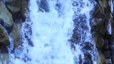 Closeup shot of water background — Stock Video