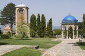 Backyard of Monastery — Stock Photo