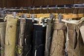 Traditional Bavarian buckskin pants — Stock Photo