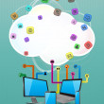 Tech cloud — Stock Vector #64015341