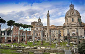 Fórum de trajano, roma — Foto Stock