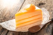 Orange cake — Stock Photo