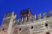 Slottet scaliger — Stockfoto