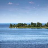 Vue sur le fleuve Dniepr, Ukraine — Photo