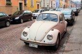 Parma, Italie - 15 janvier 2015 : Vintage Volkswagen à l'ancien s — Photo