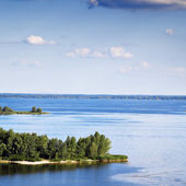 Dnieper river view, Ukraine — Stock Photo