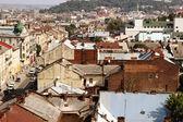 Top view of Lviv, Ukraine — 图库照片