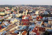 Top view from Lviv City Tower. — Stock Photo