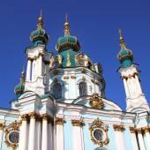 St. Andrew Church in Kiev, Ukraine — Stock Photo