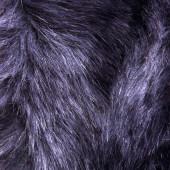 暗蓝色皮毛纹理 — 图库照片