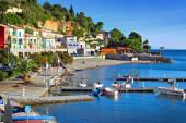 PARMA, ITALY - DECEMBER 26, 2014: Sea coast of Portovenere, near — Stock Photo
