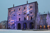 PARMA, ITALY - DECEMBER 27, 2014: Palace of Pilotta in Parma is — Stock Photo