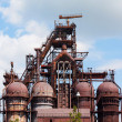 Blast furnace at the steel industry — Stock Photo #52942091
