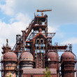 Blast furnace at the steel industry — Stock Photo #52942095