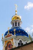 Orthodox Annunciation church in Pechory — Stock Photo
