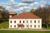 Old white building of Novgorod Kremlin, Russia — Stock Photo