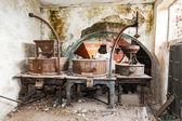Vintage old abandoned winery — Stock Photo