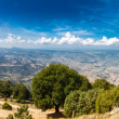 Panoramic view from the mountains on Sardinia — Stock Photo #59303147