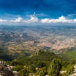 Panoramic view from the mountains on Sardinia — Stock Photo #59303165