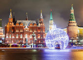 Decorations and architecture of Moscow — Stock Photo