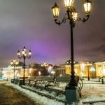 Street lamp and Manezhnaya square — Stock Photo #62280193