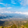 Panoramic view from the mountains on Sardinia — Stock Photo #63411277