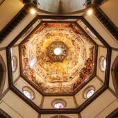 Dome inside the Duomo — Stock Photo