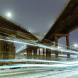 Transport metropolis, traffic and blurry lights — Stock Photo #69853059