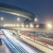 Transport metropolis, traffic and blurry lights — Stock Photo #69853069