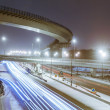 Transport metropolis, traffic and blurry lights — Stock Photo #69853077