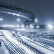 Transport metropolis, traffic and blurry lights — Stock Photo #69853097