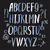 Modern  Alphabet letters — Stock Vector