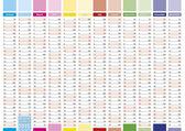 Elegant planner 2015 — Stockvektor