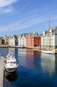 Brosundet Alesund — Stock Photo