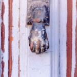 Rusty knocker — Stock Photo #53110585