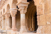 Romanesque column — Stock Photo